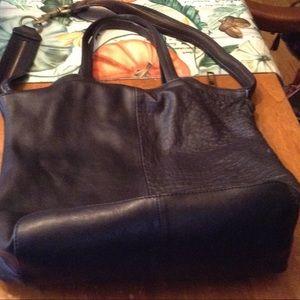 Kelsi Daggar Black Shoulder Bag